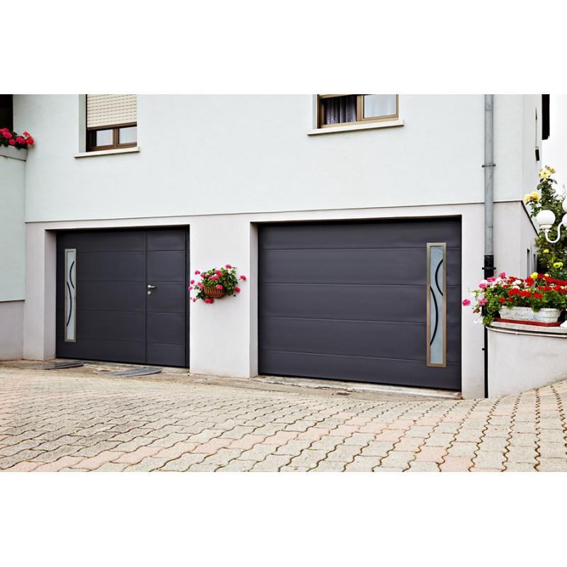 Porte basculante moos a la belle fen tre for Prix porte de garage moos