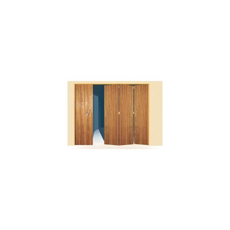 Porte lames verticales en bois a la belle fen tre - Porte de garage 4 vantaux bois ...