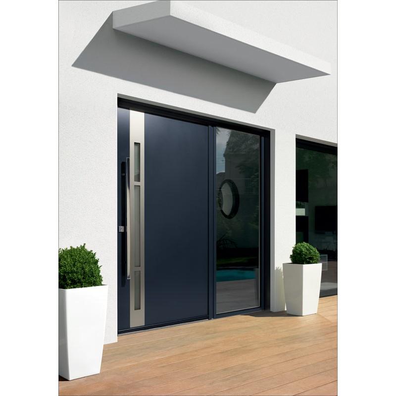 Porte D Entree Aluminium Kline A La Belle Fenetre