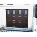 Porte de garage sectionnelle laterale