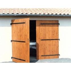 Porte de garage 2 vantaux